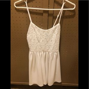 Cute summer dress - lace on top - delicate straps